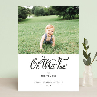 Inkwell Holiday Photo Cards