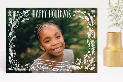 Christmas Framed Holiday Photo Cards