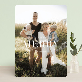 Magical Merry Holiday Photo Cards