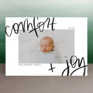 Comfort Joy Holiday Photo Cards