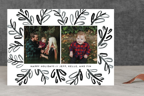 Funky Branches Holiday Photo Cards