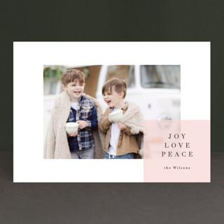 spacious Holiday Photo Cards