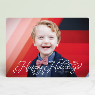 Cozy Holiday Photo Cards