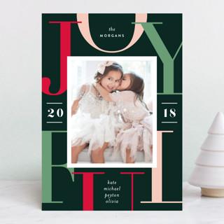Joyful Surroundings Holiday Photo Cards