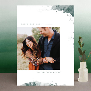 Moody Merriment Holiday Photo Cards
