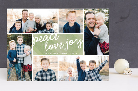 Oh So Merry Collage Holiday Photo Cards