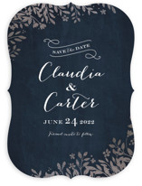 Sun Prints Foil-Pressed Save The Date Cards