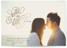 Hold the Date Foil-Pressed Save The Date Cards