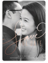 Signature Foil-Pressed Save The Date Cards
