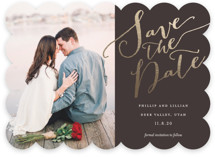 Cottonwood Foil-Pressed Save The Date Cards