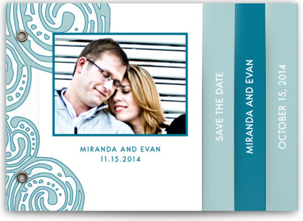 Contemporary Chic Save The Date Minibooks