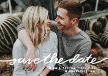 Stringed Save the Date Petite Cards