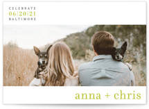 float + celebrate Save the Date Petite Cards