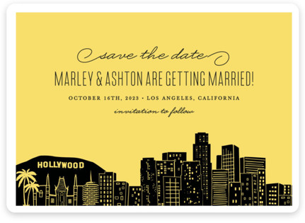 Big City - Los Angeles Save the Date Magnets