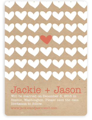 A Joyful Heart Save the Date Magnets