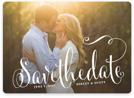 Modern Romance Save the Date Magnets