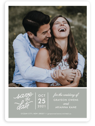 Sweet & Modern Save the Date Magnets