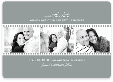 Film Reel Save the Date...