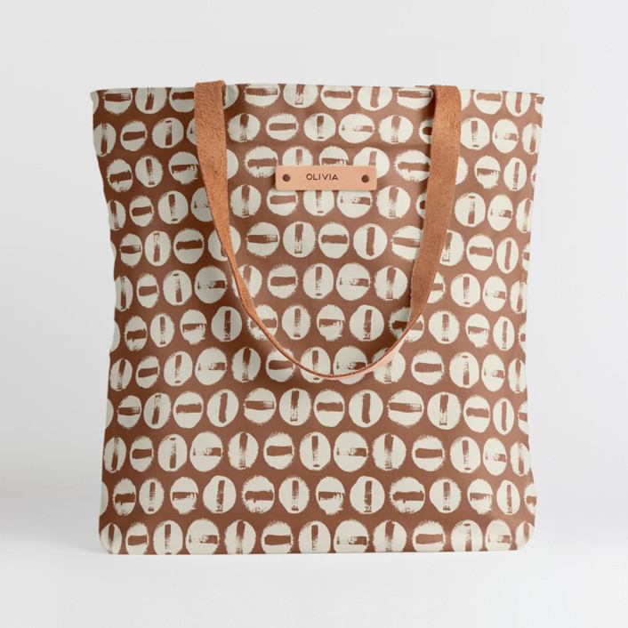 Penny Thoughts Snap Tote