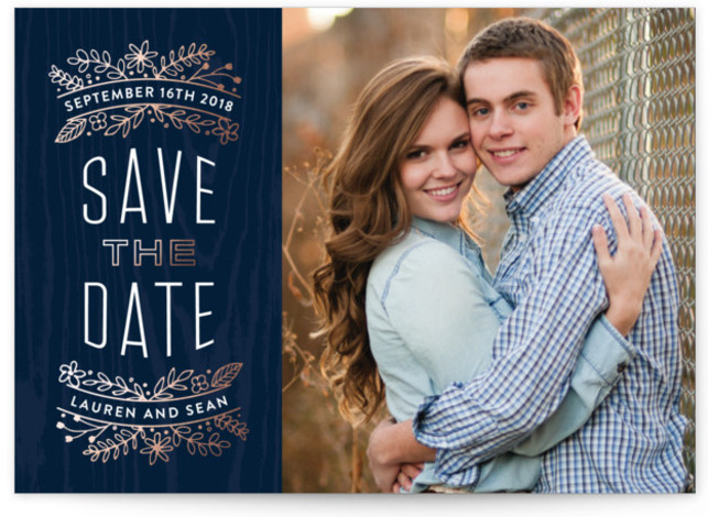 Into the Woods Save The Date Postcards