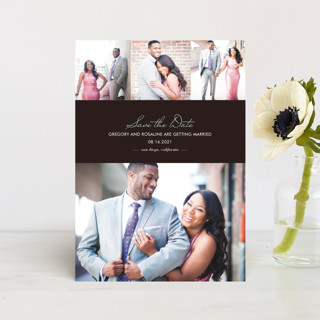 Chic Save The Date Postcards