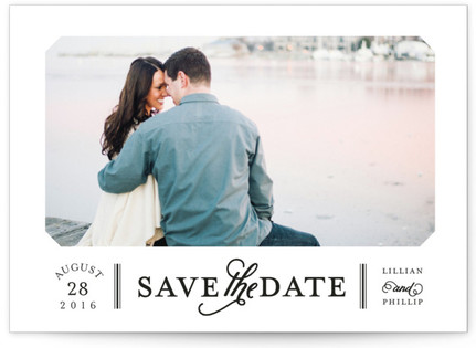 Sterling Save the Date Postcards