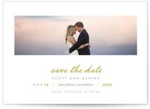 Neapolitan Save The Date Postcards