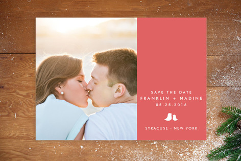 Sweet and Simple Save The Date Postcards