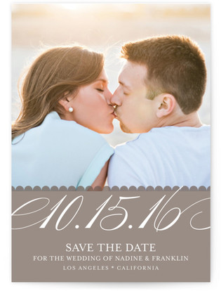 Elegant Year Save the Date...
