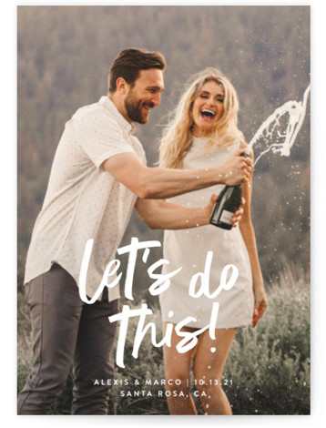 Do This Save The Date Postcards
