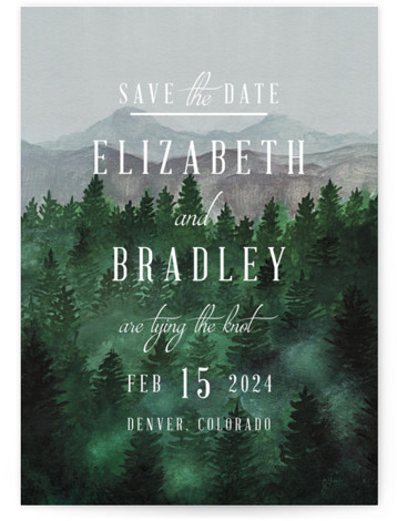 Adventure Awaits Save The Date Postcards