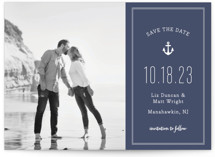 Down by the Sea Save The Date Cards