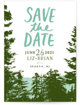 Mountain View Save The Date Cards