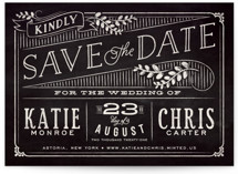 Slated Forever Save The Date Cards