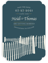 Beachside Save The Date Cards