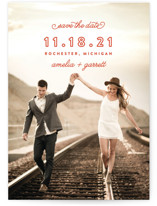 Simple Bliss Save the Date Cards
