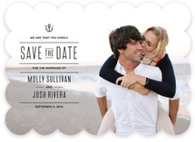 Tie The Knots Nautical Save The Date Cards