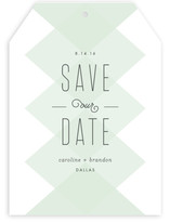Transparency Save The Date Cards