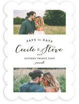 Two Up Save The Date Cards