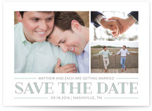 Merriment Save the Date Cards