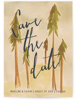 Tall Trees Save The Date Cards