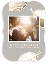 Falling Leaves Save The Date Cards