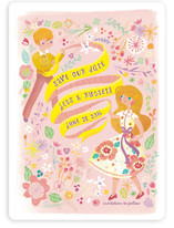 In The Flowers Save The Date Cards
