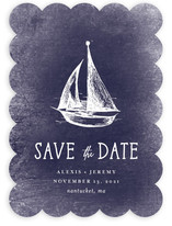 Nautical Save The Date Cards