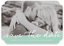 Scripted Save The Date Cards