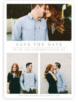 The Simple Things Save The Date Cards