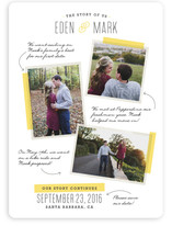 The Story Of Us Collage Save The Date Cards