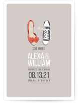 Sole Mates Save The Date Cards