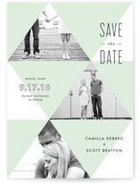 To the Point Save the Date Cards