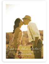 Simply Timeless Save The Date Cards